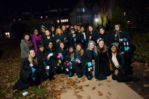 my customs group on our Lantern Night last year. though I do miss being the babies of the school, I'm so happy I got to welcome the greens home.