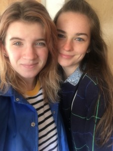 me and my cousin Cecilia (she's coming here in the fall!)