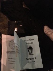 my songbook and lantern at the last step sing of the year